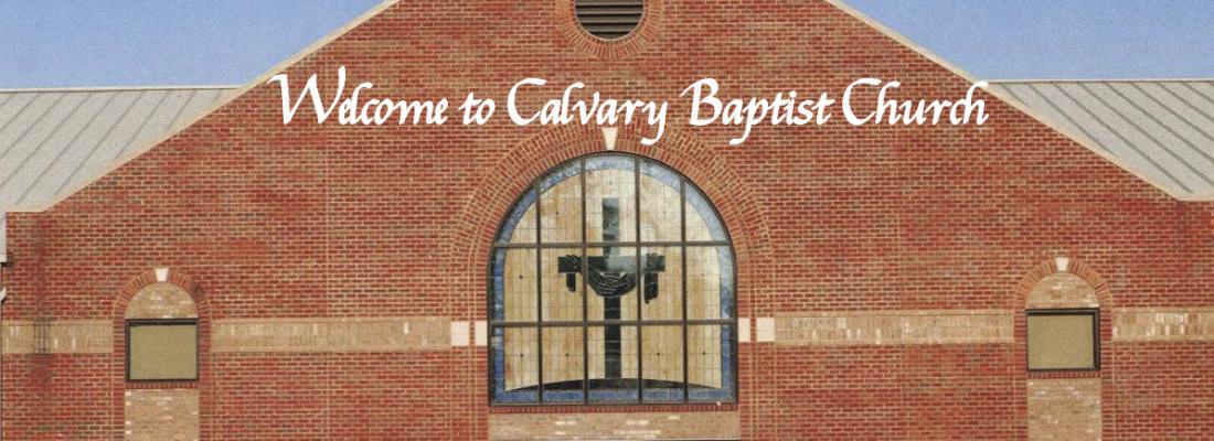 Calvary Baptist Church Alcoa